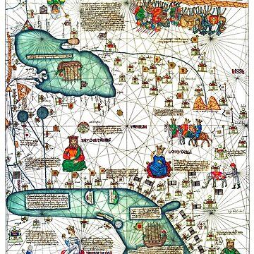 Very old Map by Bazyartass