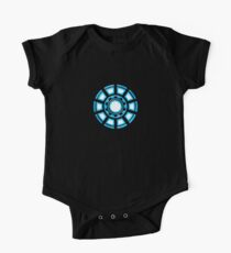 Arc Reactor, Comic, Hero, Superheroes,  Short Sleeve Baby One-Piece