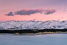 Lake Pukaki. by Michael Treloar