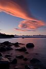 Lake Pukaki, Sunset.. by Michael Treloar