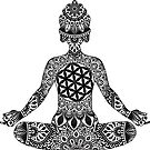 «Meditando Mandala Buddha» de NicoleHarvey