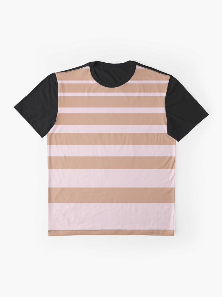 Alternate view of Stripes Graphic T-Shirt