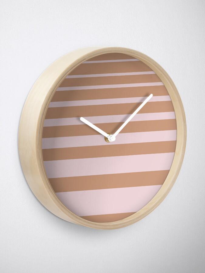 Alternate view of Stripes Clock