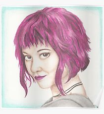 Pink Haired Ramona Poster