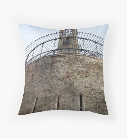 Cogswell Clock Tower Throw Pillow