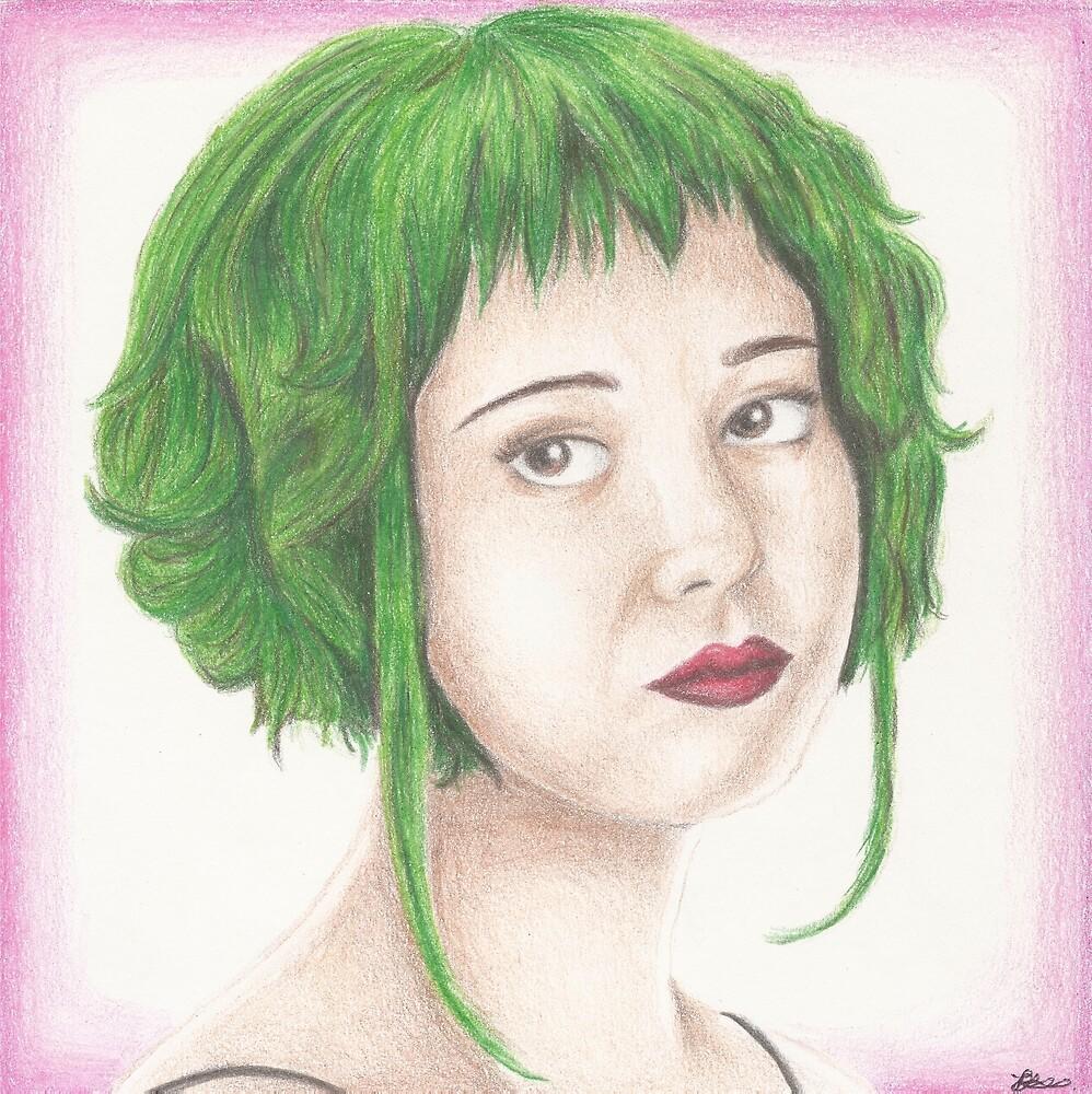 Green Haired Ramona by Jade Jones