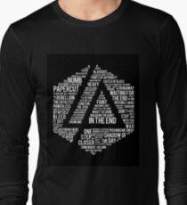 14e115e251ee New Art Linkin Park All Name full Album Long Sleeve T-Shirt