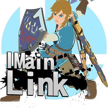 I Main Link - Super Smash Bros. Ultimate by PrincessCatanna