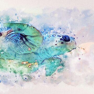 Ocean Turtle by markcsalmon