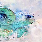 Ocean Turtle by Mark Salmon