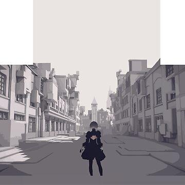 Nier Automata - Copied City by krispies69