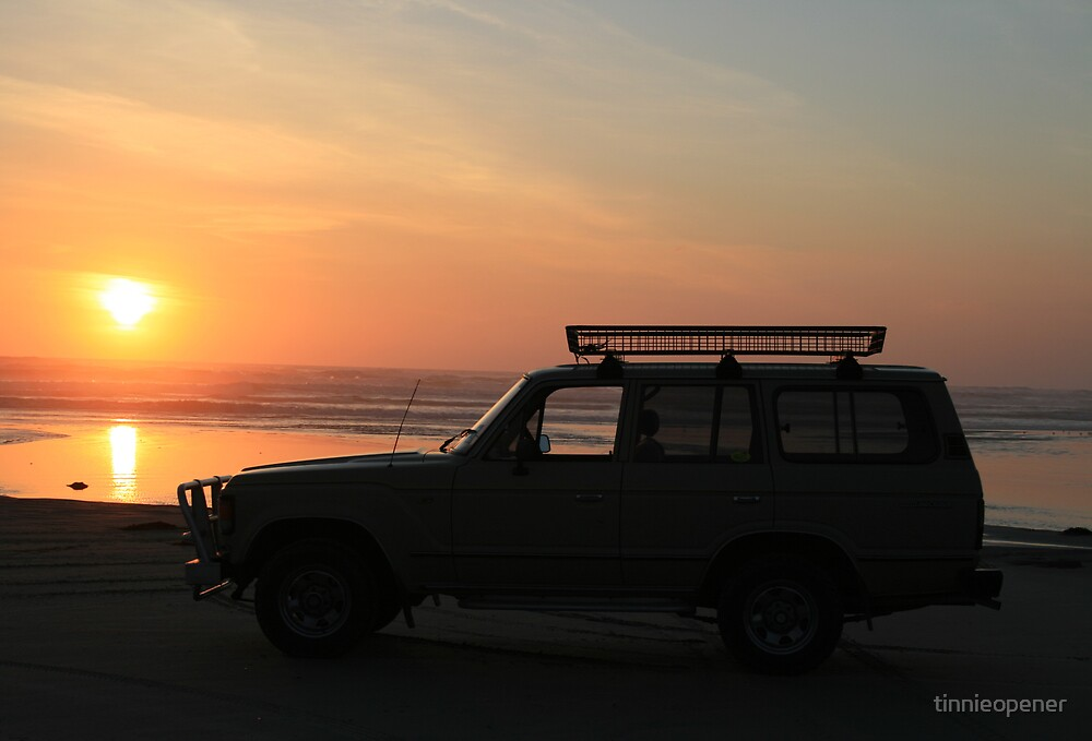 Cruiser on the Beach by tinnieopener
