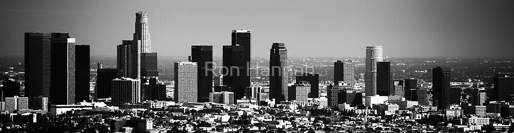 Downtown Los Angeles by Ron Hannah