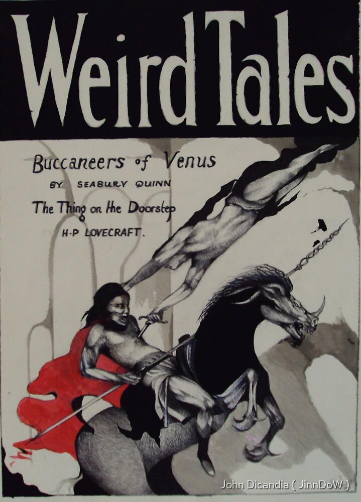 Weird Tales ( The Buccaneers Of Venus ) by John Dicandia ( JinnDoW )