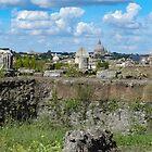 Capitoline Hill - ancient Rome by hans peðer alfreð olsen