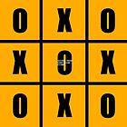 TIC TAC TOE SIGN-OFF by MAGDALENE CARMEN