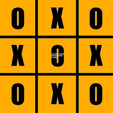 TIC TAC TOE SIGN-OFF by MCANTO