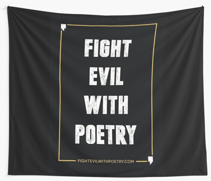 PROTEST - FEWP POSTER by Fight Evil With Poetry Press