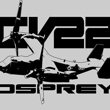CV-22 OSPREY by deathdagger