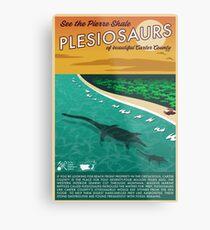 Pinto Plesiosaurs Metal Print