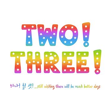 Two! Three! ... wishing there will be much better days. by InniCo