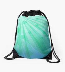 Bright Green iPad Design Drawstring Bag