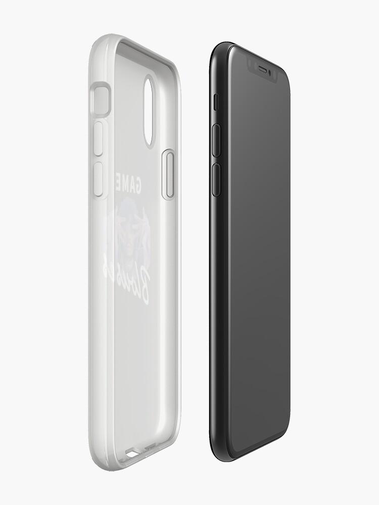 Vista alternativa de Funda y vinilo para iPhone Juego, Blusas