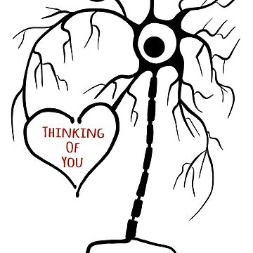 Thinking of you neuron by SurlyAmy
