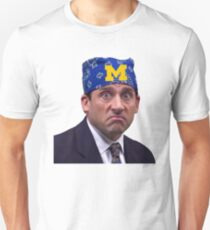 University of Michigan Prison Mike Bandana The Office Umich Go Blue Mich Wolverines Ann Arbor Unisex T-Shirt