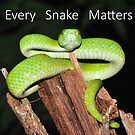 Every Snake Matters by MyFrogCroaked