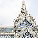 Painted Tiles in the Grand Palace by britbird