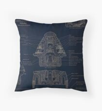 21 Second Combination Fuse Model 1907 Throw Pillow