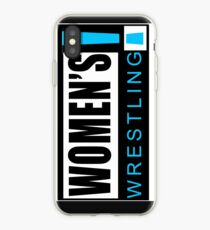 Women's Wrestling Vintage SD Logo iPhone Case