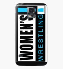 Women's Wrestling Vintage SD Logo Case/Skin for Samsung Galaxy