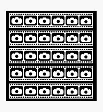 35mm Flim strips graphic Photographic Print
