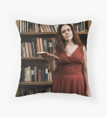 from Barbie to Medusa Throw Pillow