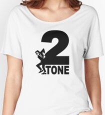 2 Tone Women's Relaxed Fit T-Shirt
