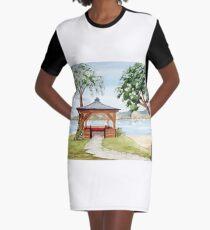 The Spirit of Inverewe Graphic T-Shirt Dress