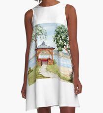 The Spirit of Inverewe A-Line Dress