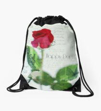 Saint Valentine's day Drawstring Bag