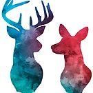deer by wildmagnolia
