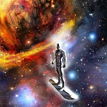 Silver Surfer  by Indigorunner