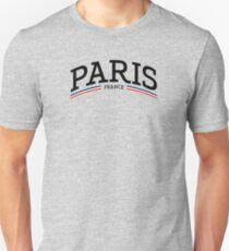 Camiseta unisex París, Francia