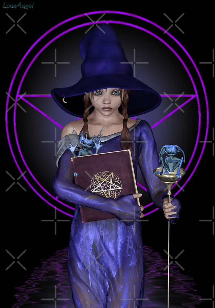 Elvira .. black witch by LoneAngel