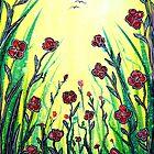 «La promesa de la primavera - Amapolas» de Linda Callaghan