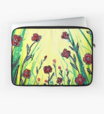 The Promise of Spring - Poppies Laptop Sleeve