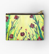 The Promise of Spring - Poppies Studio Pouch