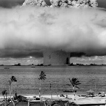 Operation Crossroads Baker - Bikini Atoll, 1946 by flashman