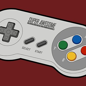 Super Awesome Entertainment System Controller by CaloyAurellano