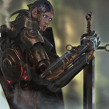 S.H.E.P. -disembodied Elf in Automaton Body by StudioColrouphobia